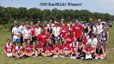 2006 Run4Ricky Winners!